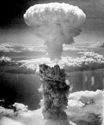 Bombingen av Nagasaki 9. august 1945. (Foto: Wikimedia Commons, se lisens her)