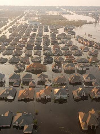 Orkanen Katrina rammet New Orleans i august 2005. «Naturen slår tilbake» er en typisk nåtidig medieforklaring på naturkatastrofer.