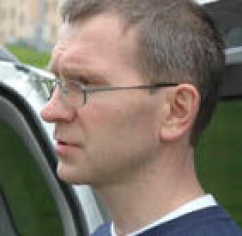 Forsker Aivo Lepland. (Foto: NGU)
