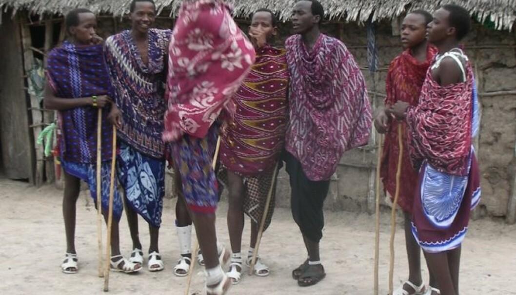 Folk dansar framleis i landsbyane, men i framtida kan dette vere eit sjeldnare syn. (Foto: Egil Ovesen)