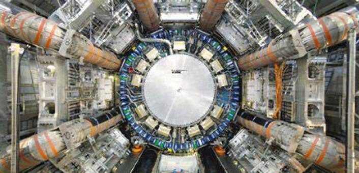 Detektoren ATLAS ved CERN. (Foto: Cern)