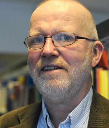 Professor Ragnar Audunson. (Foto: Christine Gulbrandsen)