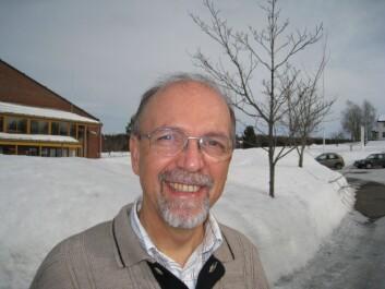 Overlege Oskar Heinz Sommer ved Innlandet sykehus. (Foto: Privat)