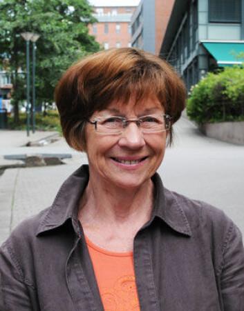 – Problemet er at utdanningsprosjekter tar lang tid, sier Karen B. Feldberg. (Foto: Stig Nøra)
