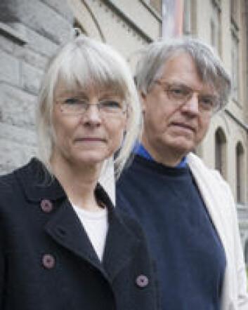 """""""Lotte Hedeager og Einar Østmo"""""""