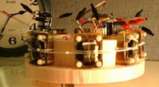 Robot lader opp på fluer og råtne epler