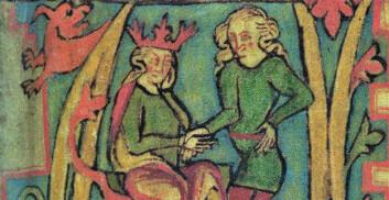 Harald Hårfagre var en av reisekongene i norsk middelalder. Her avbildet i islandske Flateyjarbók fra 1300-tallet.