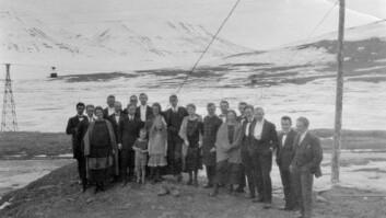 """""""Evjen kaller i sin bok Longyearbyen for """""""