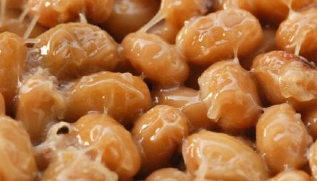 Natto er en japansk matrett og inneholder mye vitamin K2. (Foto: flickr.com/ jasja dekker)