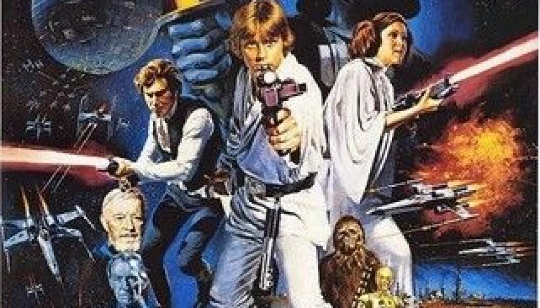 Filmplakat for Star Wars Episode IV: A New Hope (1977). (Plakat: Lucasfilm)
