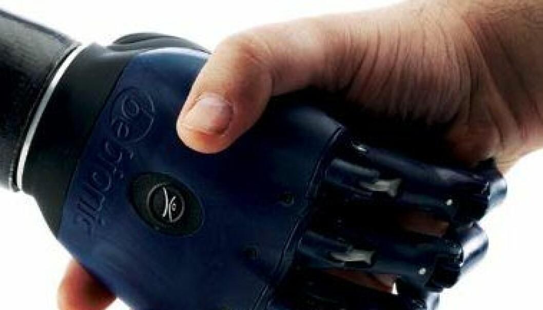 Begrepet touch-teknologi får nytt innhold når det brukes til proteser. (Foto: Bebionics)