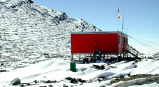 Nordmenn lager første flystripe i Antarktis