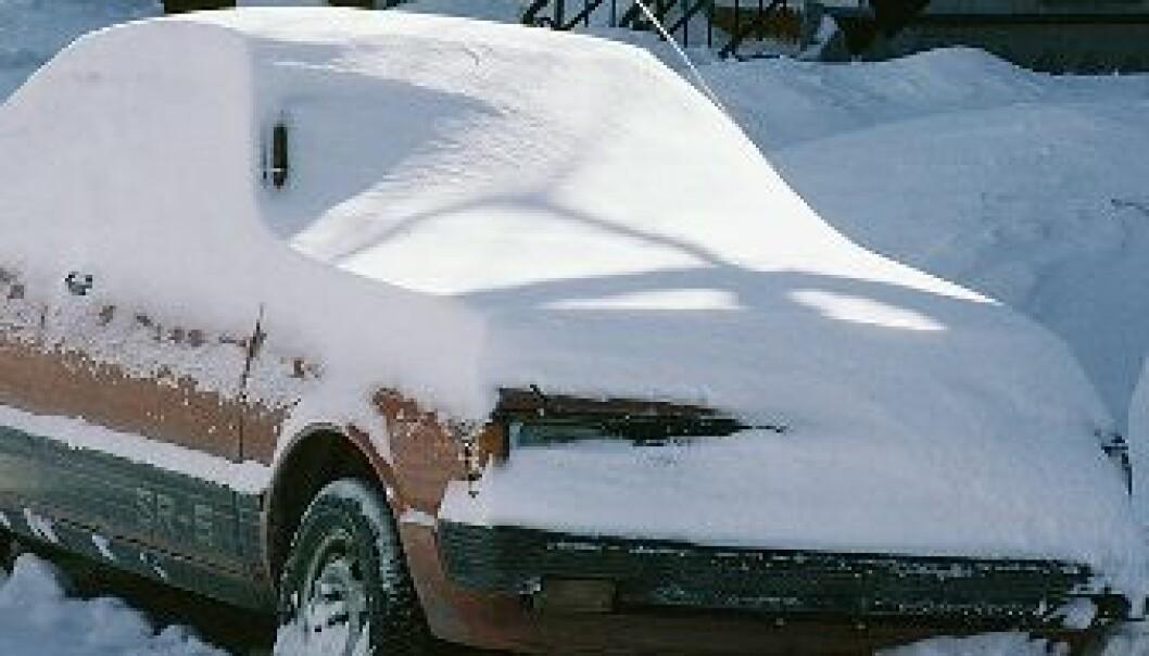 Snøen av i én fei