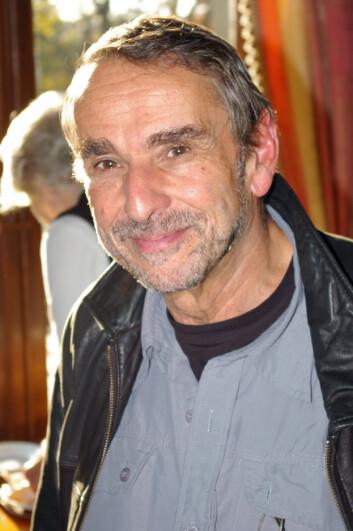 """""""Filosofen John Harris fra University of Manchester. (Foto: Bjørnar Kjensli)"""""""