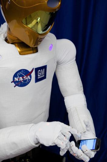 NASAs nye robot, R2, skal tvitre fra verdensrommet. (Foto: NASA)