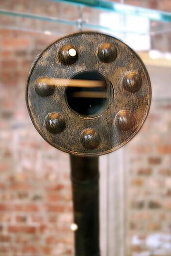 Tuten på en av bronselurene (Foto: Per Byhring)