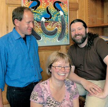 """""""Fra venstre: Geir Sørli, Anne Hermansen og Petter Bøckman."""""""