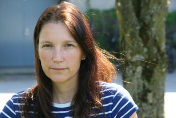 Forsker Eli Grindflek ved Norsvin har funnet frem til gener mot rånelukt. (Foto: Ingunn Haraldsen)