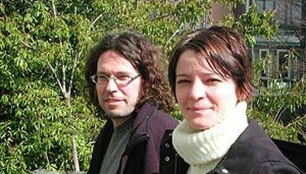 """""""Thorvald Sirnes og Jill Loga"""""""