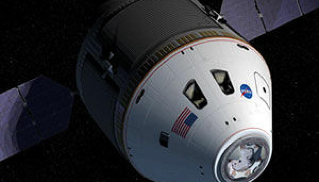 """""""Slik ser NASA for seg romsonden som skal frakte mennesker til Månen igjen."""""""