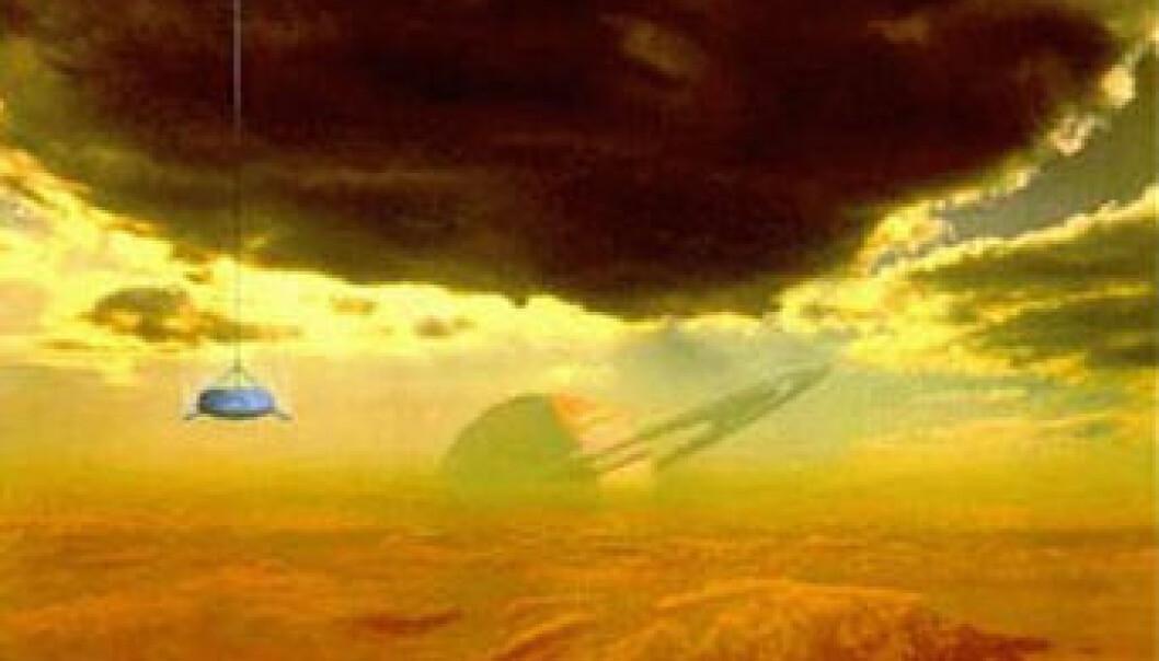 Europeisk sonde nærmer seg Saturns måne