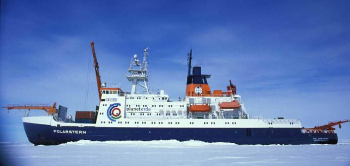 Forskningsskipet Polarstern er egentlig en isbryter, laget for utforsking av områder i Arktis og Antarktis. (Foto: Hannes Grobe, Alfred Wegener Institute, se lisens)