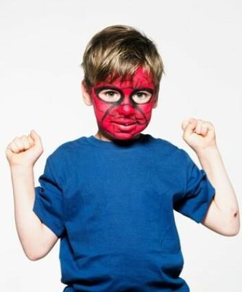 Dagens gutter kan godt leke Spiderman, men de har ikke krav på seg til å være tøffe hele tiden. (Illustrasjonsfoto: www.colourbox.no)