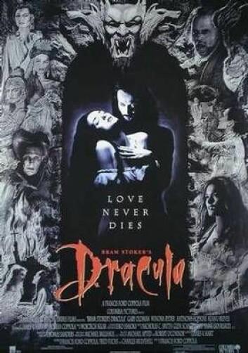 Filmplakat for Bram Stoker's Dracula (1992). (Plakat: Sony Pictures)