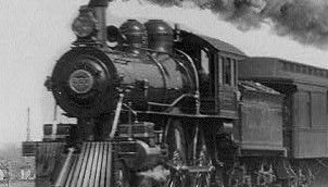 The Empire State Express 1893. (Foto: Wikimedia Commons)