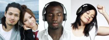Glad eller trist musikk? Personer som er helt uerfarne med vestlig musikk gjenkjenner stemninger i den. (Montasje med bilder fra Colourbox.no)