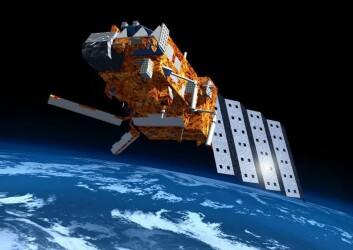 EUMETSATs satellitt MetOp er en av satellittene som brukes til å samle data om ozonlaget. (Foto: ESA)