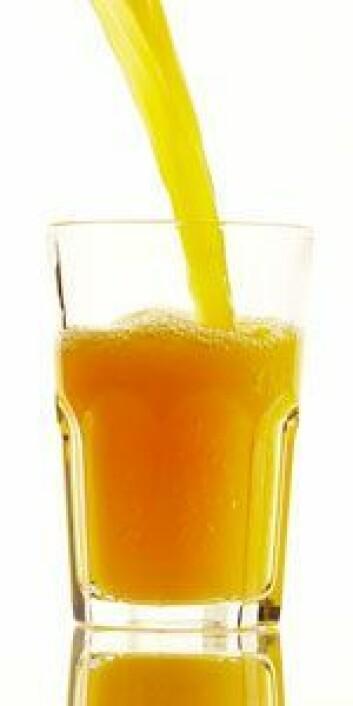 Forskerne har sammenlignet juice tilsatt omega-3 med fiskeolje, kapsler og fisk.
