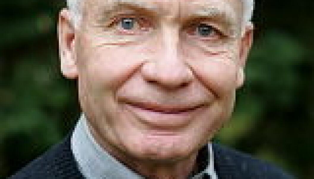 """""""Professor Finn Måge fra NLH."""""""