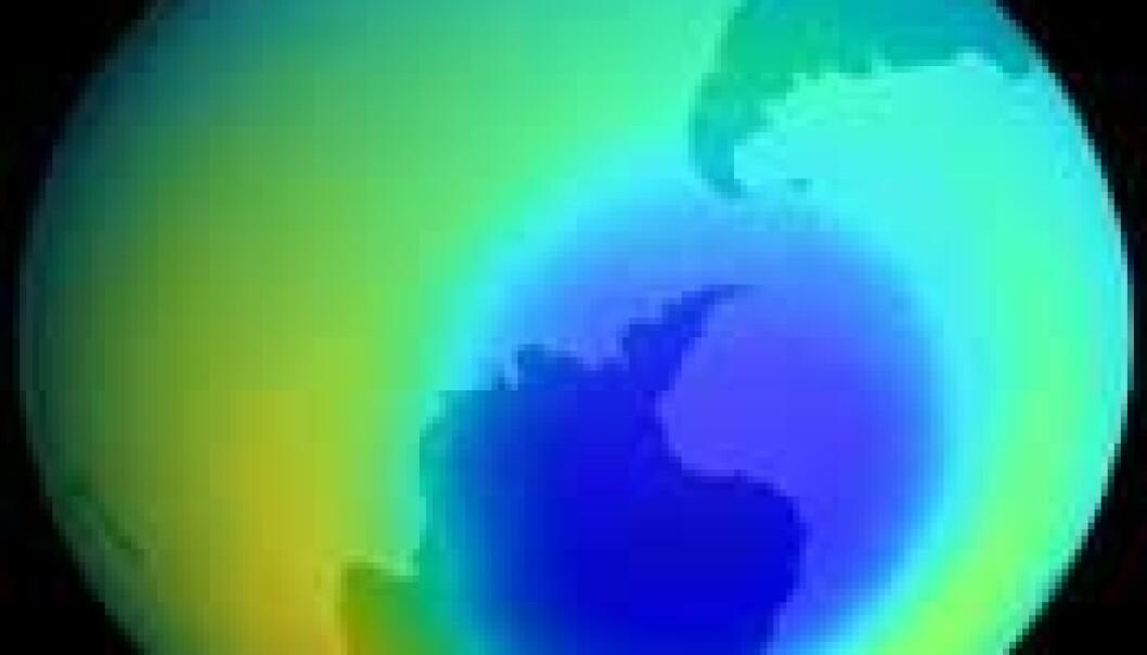 Tett ozonlag - varmere klode