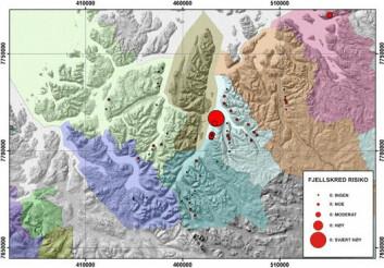 Forskerne har gjort en vurdering av de mer enn 90 skredutsatte områdene i Troms og funnet ut at Nordnes er området som utgjør den klart største trusselen for befolkninga. Et skred her vil både ramme E6 og utløse en flodbølge i hele fjorden.