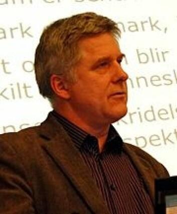 Forsker Hogne Øian. (Foto: Tom Erik Økland)