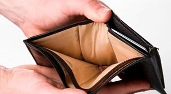 - Lave lønninger skaper finanskriser