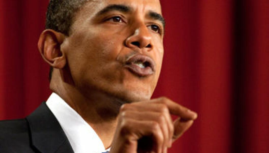 Obamas tale i Kairo 4.6.2009. (Det hvite hus/Wikimedia)