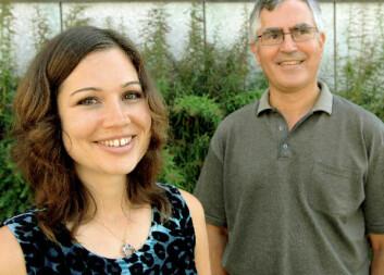 """""""Stine Laberg og faren Jon Christian Laberg samarbeider om å betre vilkåra for pasientar med spiseforstyrring."""""""