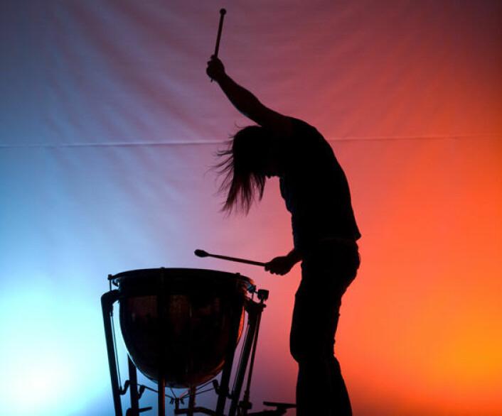 Jakten på den gode rytmen. Foto: Torbein Kvil Gamst