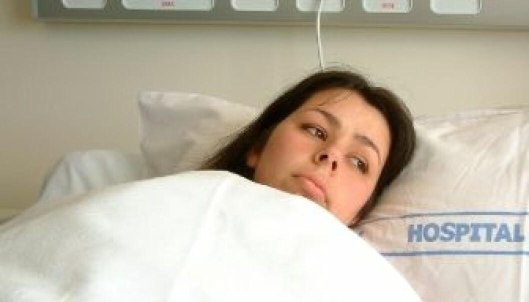 Hver tiende pasient som blir innlagt på en medisinsk avdeling, får en infeksjon på sykehuset. (Illustrasjonsfoto: iStockphoto)