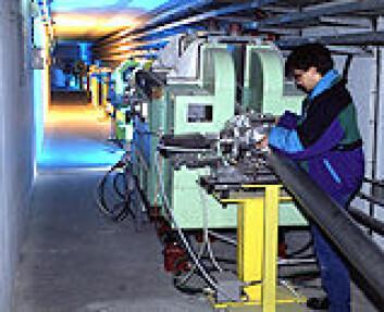 """ISOLDE-anlegget ved CERN. Foto: CERN."""