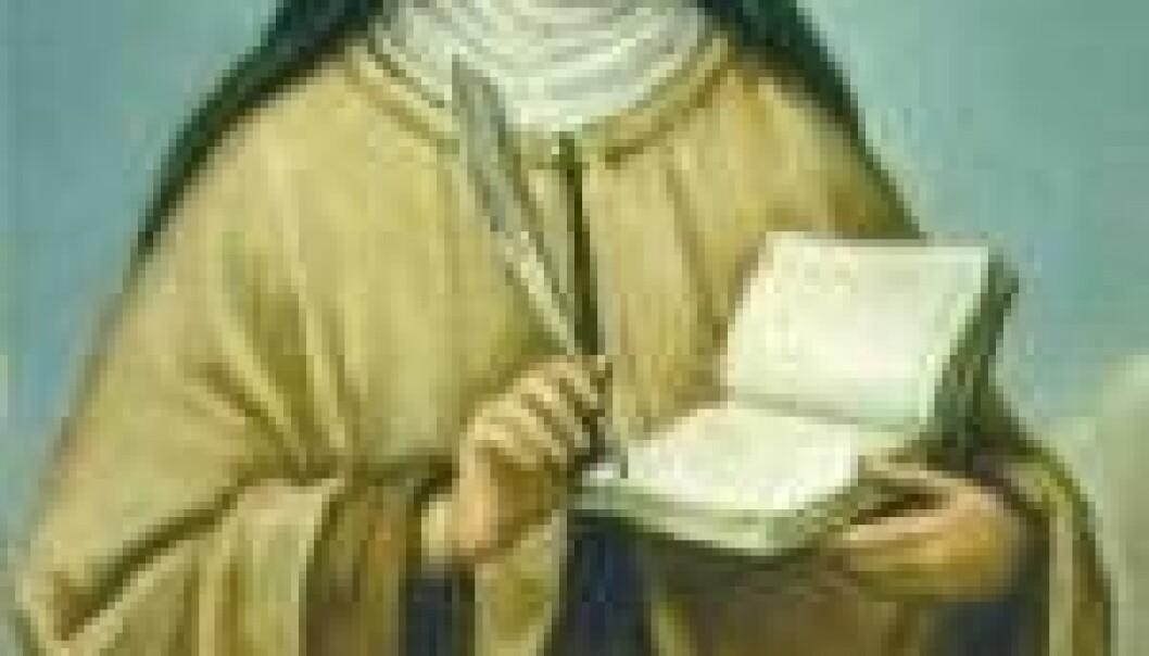 """""""Teresa av Avila, karmelitt og berømt mystiker."""""""