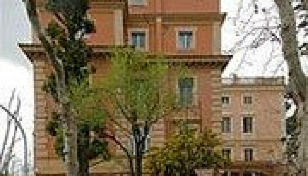 Det norske institutt i Roma.