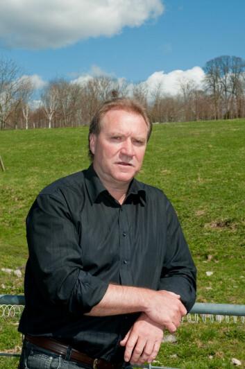 Forskningsdirektør Nils Vagstad i Bioforsk. (Foto: Erling Fløistad)