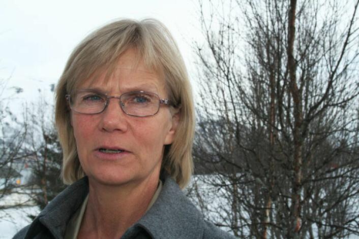 Seniorforsker Annika Hofgaard ved NINA. (Foto: Asle Rønning)