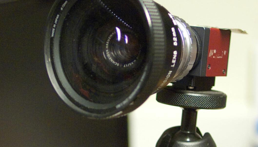 Kamera som ser det usynlige