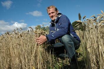 Forskningsleder Bernt Hoel, Bioforsk Øst. (Foto: Jon Schärer)