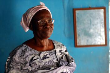 Mange ghanesere tror på hekseri. Hannah ble stemplet som heks fordi hun var enslig og barnløs, og hun levde utstøtt i sitt eget nærmiljø. Hannah døde i fjor sommer. Foto: (Elin Folgerø Styve)