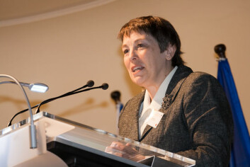 Theresa Rees tok til orde for å samle kreftene og jobbe mer effektivt i likestillingsarbeidet. (Foto: Michal Ures)